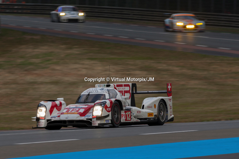 #12 Rebellion R-One, Rebellion Racing, Mathias Beche, Nick Heidfeld, Nicolas Prost, Le Mans 24H 2015