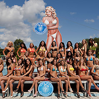 Miss Bikini beauty contest held in Siofok, Hungary. Sunday, 29. August 2010. ATTILA VOLGYI