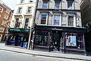"""Ann Summers"" multinational retailer company specialising in sex toys and lingerie, with over 140 high street stores in the UK, Ireland, and the Channel Islands is seen deserted near China Town in London, Britain, as the country continues the lockdown to curb the spread of coronavirus outbreak. Monday, May 4, 2020. (Photo/ Vudi Xhymshiti)"
