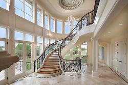 Hallway foyer entrance archway Stair stairway VA1_958_896