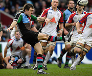 Twickenham, GREAT BRITAIN, Adrian JARVIS, during the Guinness Premieship match, NEC Harlequins vs Bristol Rugby, at the Twickenham Stoop Stadium, England, on Sat 24.02.2007  [Photo, Peter Spurrier/Intersport-images].....