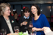 JENNE CASSAROTTO; JODI SHIELDS; PAULA JALFON, BIRDS EYE VIEW INTERNATIONAL WOMEN'S DAY  RECEPTION, BFI Southbank. London. 8 March 2012.