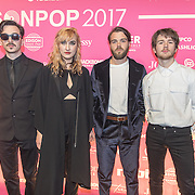 NLD/Amsterdam/201702013- Edison Pop Awards 2017, Band Indian Askin