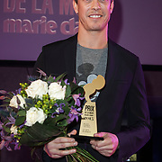 NLD/Amsterdam/20150119 - De Marie Claire Prix de la Mode awards, Claes Iversen wint de award voor Dutch Fashion Creative