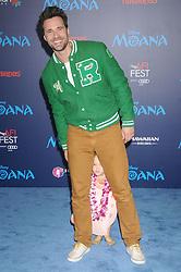 November 14, 2016 - Los Angeles, California, United States - November 14th 2016 - Los Angeles California USA -  Actor BRETT DALTON    at  the Disney World Premiere ''Moana''  held at the El Capitan Theater, Hollywood,  CA (Credit Image: © Paul Fenton via ZUMA Wire)