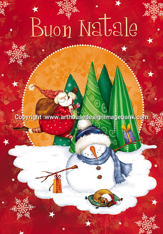 Marcello Corti Christmas art