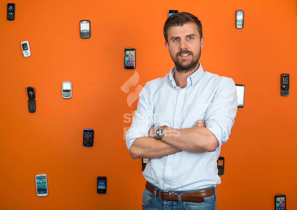 Chris Gale, managing director of 'Odyssey' at their central London offices. <br /> Picture by Daniel Hambury/Stella Pictures Ltd +44 7813 022858<br /> 30/07/2014