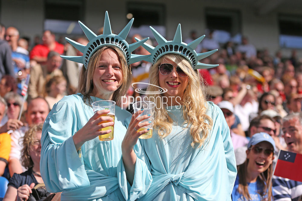 Rugby World Cup fans before the Rugby World Cup 2015 match between Samoa and USA at the Brighton Community Stadium, Falmer, United Kingdom on 20 September 2015.