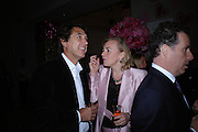 BRYAN FERRY AND COUNTESS MANFREDIE DELLA GHERARDESCA. Selfridges Las Vegas dinner hosted by  hon Galen , Hillary Weston and Allanah Weston. Selfridges Oxford St. 20 April 2005. ONE TIME USE ONLY - DO NOT ARCHIVE  © Copyright Photograph by Dafydd Jones 66 Stockwell Park Rd. London SW9 0DA Tel 020 7733 0108 www.dafjones.com
