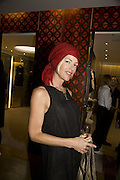 Cynthia Conran, Make-A-Wish Charity Evening at Selfridges, Selfridges,  400 Oxford St. London. 17 December 2007. -DO NOT ARCHIVE-© Copyright Photograph by Dafydd Jones. 248 Clapham Rd. London SW9 0PZ. Tel 0207 820 0771. www.dafjones.com.