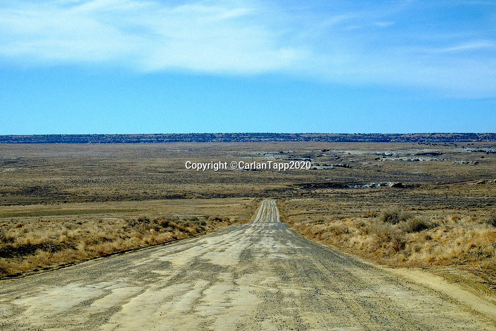 Road to Chaco New Mexico