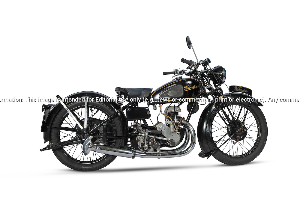 Velocette GTP.Garage Studio .For Bonhams Auction Catalogue.Melbourne, Victoria, Australia.8th September 2011.(C) Joel Strickland Photographics.Use information: This image is intended for Editorial use only (e.g. news or commentary, print or electronic). Any commercial or promotional use requires additional clearance.