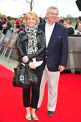 © Licensed to London News Pictures. 31/03/2012. Watford, England. Ruth Langsford and Eamon Holmes attends The Warner Bros. Studio Tour London - The Making of Harry Potter ** GRAND OPENING at Leavesden Studios near Watford Hertfordshire  Photo credit : ALAN ROXBOROUGH/LNP