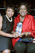 October 16, 2012-New York, NY : (L-R) Marva Smalls and Ingrid Saunders Jones, SVP, Coca-Cola at the 3rd Annual National Action Network Triumph Awards held at Jazz at Lincoln Center on October 16, 2012 in New York City. The Triumph Awards were established by the National Action Network to recognize the contributions of humanitarians from all walks of life and to encourage future generations to drum majors for justice. (Terrence Jennings)