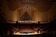 Performers at the Sydney Opera House, part of the Australian Internatiuonal Music Festival, Sydney 2019