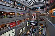 Thailand, Bangkok Interior of MBK shopping mall