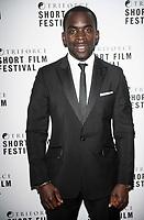 Jimmy Akingbola at the TriForce Short Film Festival gala ceremony, BFI Southbank, London, UK - 30 Nov 2019