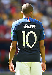 France' s Kylian Mbappé during the World Cup 2018, France vs Australia at the Kazan Arena stadium in Kazan, Russia on June 16, 2018. Photo by Christian Liewig/ABACAPRESS.COM