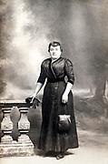 adult woman studio portrait ca 1930s