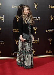 .Danielle Fishel  attends  2016 Creative Arts Emmy Awards - Day 1 at  Microsoft Theater on September 10th, 2016  in Los Angeles, California.Photo:Tony Lowe/Globephotos