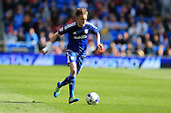 Craig Noone of Cardiff city in action Skybet football league championship match, Cardiff city v Bolton Wanderers at the Cardiff city Stadium in Cardiff, South Wales on Saturday 23rd April 2016.<br /> pic by Andrew Orchard, Andrew Orchard sports photography.