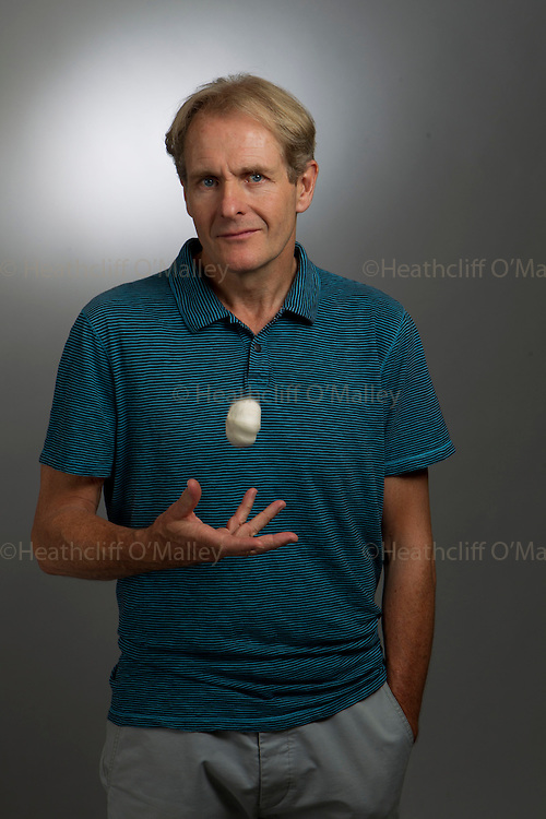 May0033152 . Daily Telegraph..DT Weekend Interview..British Actor Robert Bathurst photographed for the Daily Telegraph with his favourite thing; Garlic. ..London 21 July 2011. ............Not Getty.Not Reuters.Not AP.Not Reuters.Not PA