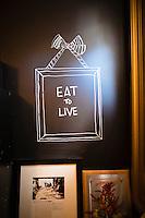 Beast, a Northeast Portland restaurant from chef Naomi Pomeroy. Portland, Oregon.