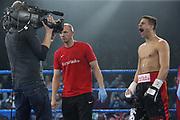 Boxen: Blitz & Donner,Supermittelgweicht, WBA Weltmeristeschaft, Tyron Zeuge (GER) - Isaac Ekpo (NIG) Hamburg, 24.03.2018<br /> Tyron Zeuge (GER)<br /> © Torsten Helmke