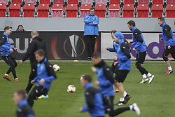 March 14, 2018 - Na - Prague, 03/14/2018 - Training of Viktoria Plzen at the Doosan Arena in the preparation of the match against Sporting, 2nd place in the last 16 of the Europa League 2017/18. Pavel Vrba  (Credit Image: © Atlantico Press via ZUMA Wire)