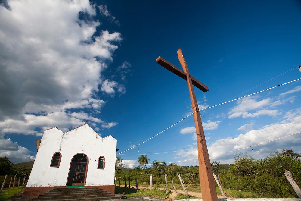 Esmeraldas_MG, Brasil...Igreja na comunidade rural da Laginha em Esmeraldas, Minas Gerais...A church in the rural community in Laginha in Esmeraldas, Minas Gerais...Foto: JOAO MARCOS ROSA / NITRO