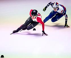 10-03-2017  NED: ISU World Short Track Championships 2017, Rotterdam<br /> 2 Marianne ST-GELAIS CAN, 60 Ekaterina KONSTANTINOVA RUS