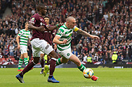 Celtic Captain Scott Brown goes on a mazey run during the William Hill Scottish Cup Final match between Heart of Midlothian and Celtic at Hampden Park, Glasgow, United Kingdom on 25 May 2019.