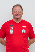 Download von www.picturedesk.com am 16.08.2019 (13:58). <br /> PASCHING, AUSTRIA - JULY 16: Kit manager Klaus Fischill of LASK during the team photo shooting - LASK at TGW Arena on July 16, 2019 in Pasching, Austria.190716_SEPA_19_067 - 20190716_PD12428