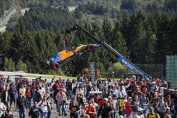 September 1, 2019, Spa-Francorchamps, Belgium: Motorsports: FIA Formula One World Championship 2019, Grand Prix of Belgium, ..#55 Carlos Sainz jr. (ESP, McLaren F1 Team) (Credit Image: © Hoch Zwei via ZUMA Wire)