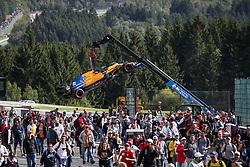 September 1, 2019, Spa-Francorchamps, Belgium: Motorsports: FIA Formula One World Championship 2019, Grand Prix of Belgium, ..#55 Carlos Sainz jr. (ESP, McLaren F1 Team) (Credit Image: © Hoch Zwei via ZUMA Wire)