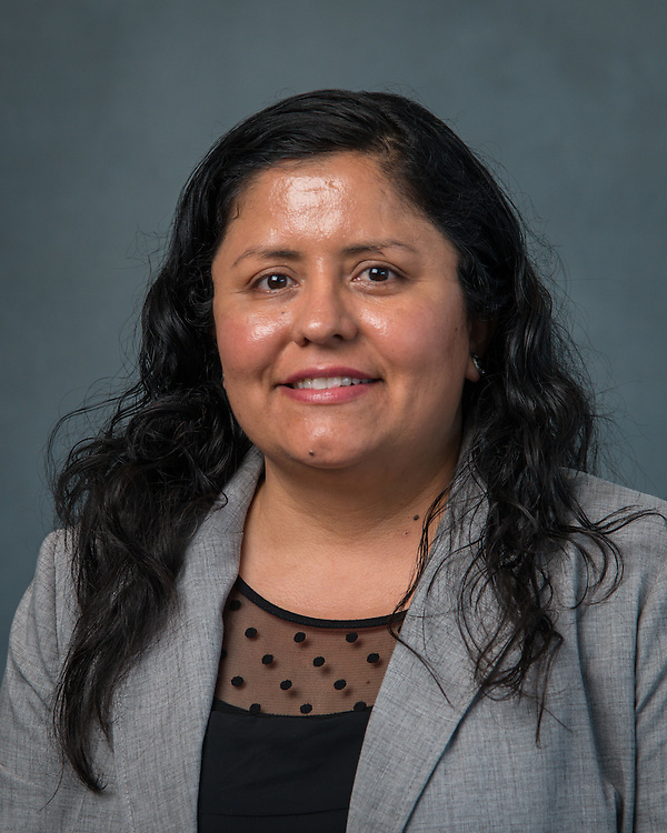 Domitila De La Torre poses for a photograph during the Professional Learning Series at NRG Center, June 15, 2016.