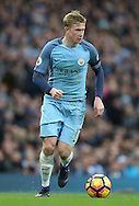 Kevin De Bruyne of Manchester City during the Premier League match at the Etihad Stadium, Manchester. Picture date: December 3rd, 2016. Pic Simon Bellis/Sportimage