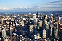 First Hill District & Downtown Seattle