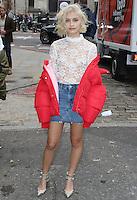 Sarah Ellen, London Fashion Week SS17 - Topshop, Old Spitalfields Market, London UK, 18 September 2016, Photo by Brett D. Cove