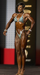 Sept.16, 2016 - Las Vegas, Nevada, U.S. -  VERA MALLET competes in the Figure Olympia contest during Joe Weider's Olympia Fitness and Performance Weekend.(Credit Image: © Brian Cahn via ZUMA Wire)