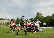 Oxford, England.<br /> <br /> IRB U21 Rugby World Cup - Iffley Road - Oxford <br /> 21.06.2003. Italy vs Japan, [Mandatory Credit: Peter SPURRIER/Intersport Images]