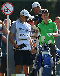 May 25, 2017 - Virginia Water, United Kingdom - Luke Donald of England.during 1st Round for the 2017 BMW PGA Championship on the west Course at Wentworth on May 25, 2017 in Virginia Water,England  (Credit Image: © Kieran Galvin/NurPhoto via ZUMA Press)