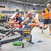 8:20 AM- Concept2 #1- Men?s 2000m Masters A, B, C, Novice2<br /> <br /> NZ Indoor Champs, raced at Avanti Drome, Cambridge, New Zealand, Saturday 23rd November 2019 © Copyright Steve McArthur / @rowingcelebration www.rowingcelebration.com