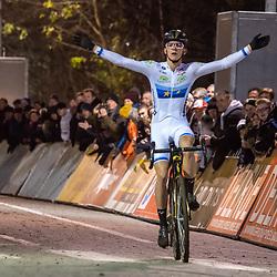 2019-12-29: Cycling: Superprestige: Diegem: Thibau Nay gaining his fourth win