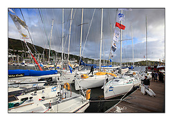 Brewin Dolphin Scottish Series 2011, Tarbert Loch Fyne - Yachting - Day 1 of the 4 day series...GSS Harbourside Pontoons