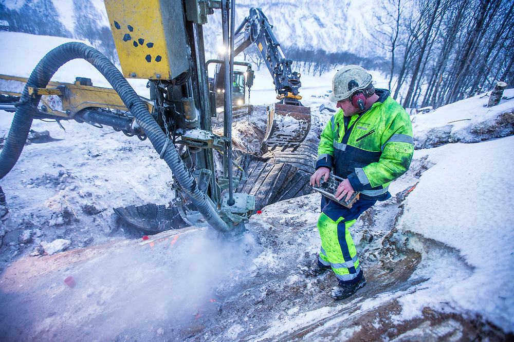 Hans Robert Johansen (45). Skytebas / bergsprengningsleder i Bernhardsen Entreprenør AS, Bodø.