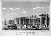 Bank of Ireland From the guide book ' The new picture of Dublin : or Stranger's guide through the Irish metropolis, containing a description of every public and private building worthy of notice ' by Hardy, Philip Dixon, 1794-1875. Published in Dublin in 1831 by W. Curry.