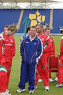 Glamorgan  head coach Matthew Mott (c). Glamorgan county cricket club official photocall at the Swalec Stadium, Sophia Gardens in Cardiff on Wed 13th April 2011. pic by Andrew Orchard