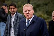 Uitvaart Mies Bouwman in een crematorium in Leusden.<br /> <br /> Op de foto:  Andre van Duin