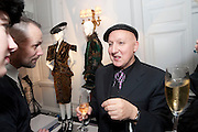 Bouke De Vries; STEPHEN JONES, Unveiling of the Dior Christmas Tree by John Galliano at Claridge's. London. 1 December 2009